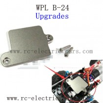 WPL B24 Gaz-66 Upgrades-Servo Fixed Plate Metal