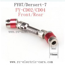 Feiyue FY07 Car Upgrade parts-Metal Wheel Transmission FY-CD04 Red