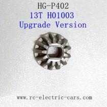 HENG GUAN HG P402 Parts Bevel Gear 13T H01003