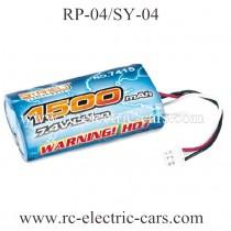 RUI PENG RP-04 RC Car 7.4V Battery