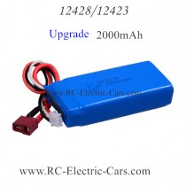 wltoys 12428 12423 car battery upgrade