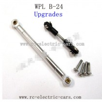WPL B24 GAz-66 Upgrades-Silver Metal Connect Rod and Silver Metal Ball Head
