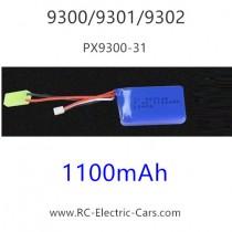 PXToys 9300 9301 9302 car Battery 1100mAH