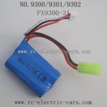 PXToys 9300 9301 9302 Car Parts Battery 850mAh
