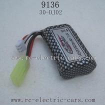 XINLEHONG TOYS 9136 Parts-Battery 500mah