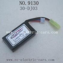 xinlehong toys 9130 car-Battery 7.4V 800mAh 30-DJ03