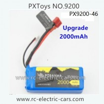 PXToys 9200 Car Parts-Upgrade Battery 2000mAh PX9200-46