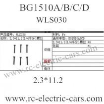 Subotech BG1510A BG1510B BG1510C BG1510D WLS030 screws