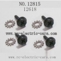 HAIBOXING HBX 12815 parts-Wheel Lock Screws 12618