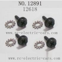 Haiboxing 12891 Car Parts-Wheel Lock Screws 12618