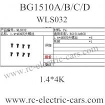 Subotech BG1510A BG1510B BG1510C BG1510D WLS032 screws
