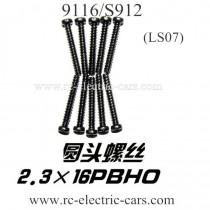 XINLEHONG 9116 S912 Truck Screws LS07