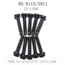 Xinlehong toys 9115 S911 Parts Screw 15-LS06