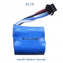 Xinlehong 9119 RC Car Battery