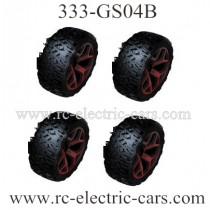 ZC RC Drives 333-GS04B Wheels