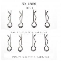 Haiboxing 12891 Car Parts-Body Clip H021