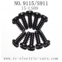 Xinlehong toys 9115 S911 parts-Screw 15-LS09