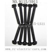 Xinlehong toys 9115 S911 parts Screw 15-LS11