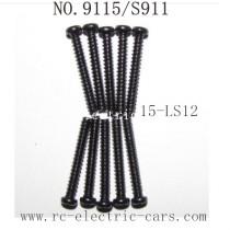 Xinlehong toys 9115 S911 Parts Screw 15-LS12