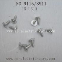 Xinlehong toys 9115 S911 Parts- Screw 15-LS13
