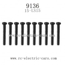 XINLEHONG TOYS 9136 Parts-Round Headed Screw 15-LS12