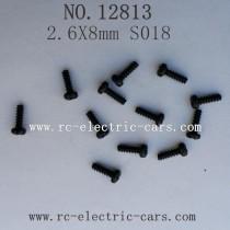 HBX 12813 CAR Survivor MT Parts-Round Head Self Tapping Screw S018