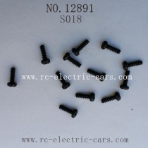 Haiboxing 12891 Car Parts-Round Head Self Tapping Screw S018