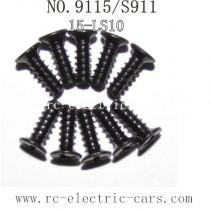 Xinlehong toys 9115 S911 parts Countersunk Head Screw 15-LS10