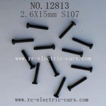 HBX 12813 CAR Survivor MT Parts-Round Head Self Tapping Screw S107