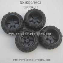 PXToys 9300 9302 Car PARTS Tire