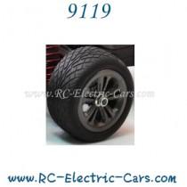 Xinlehong 9119 RC Car wheels