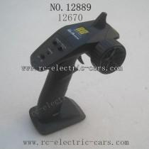 HBX 12889 Thruster parts Remote Control
