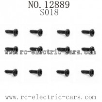HBX 12889 Thruster parts Round Head Self Tapping Screw S018