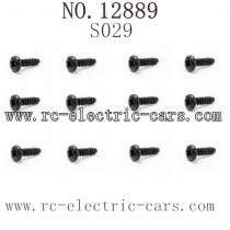 HBX 12889 Thruster parts Round Head Self Tapping Screw S029