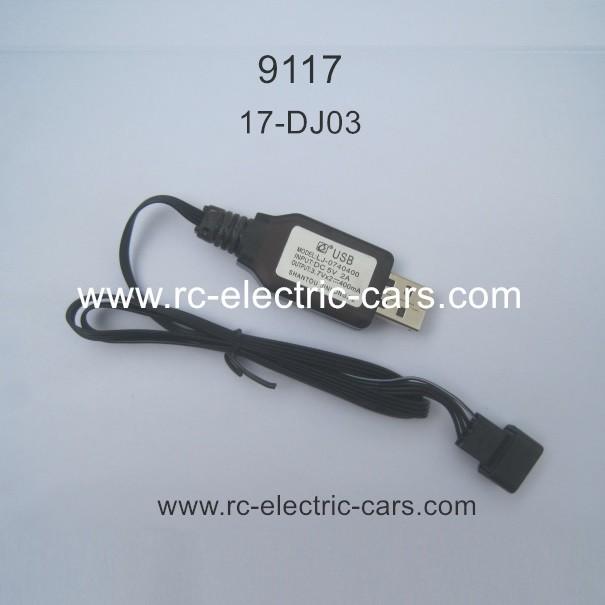 XINLEHONG 9117 RC Car Parts USB Charger 17-DJ03
