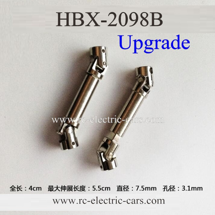 HaiBoXing HBX 2098B Devastator car Metal Axis