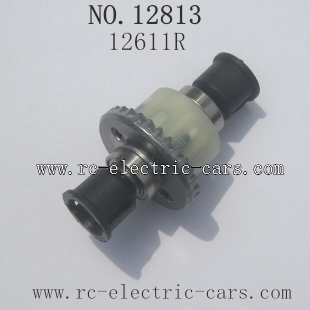 HBX 12813 Survivor MT Parts-Diff. Gears Complete