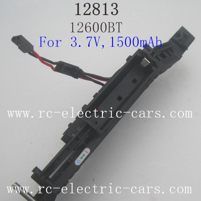 HBX 12813 Survivor MT Parts-Chassis 12600BT