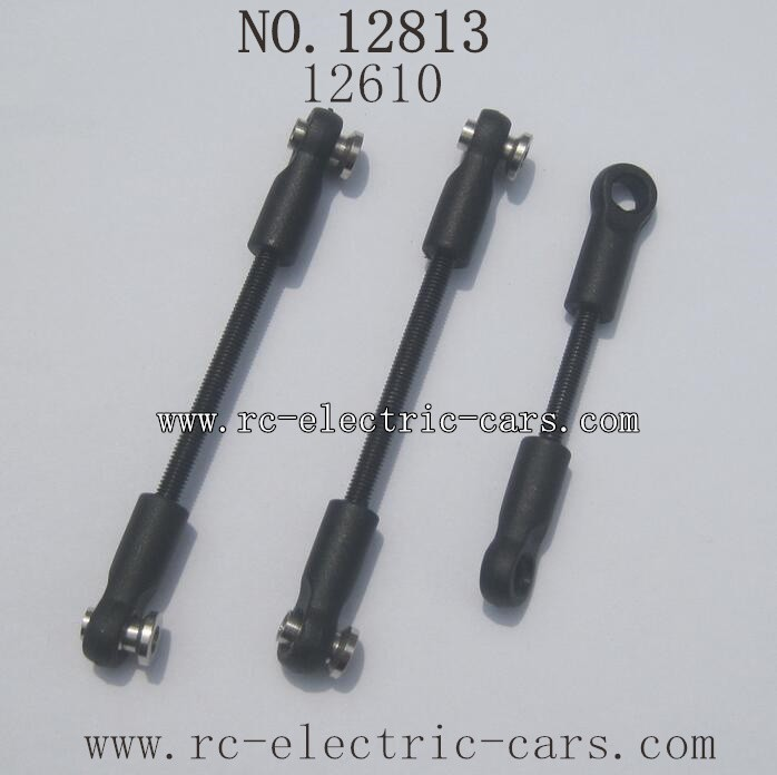 HBX 12813 Survivor MT Parts-Steering Links