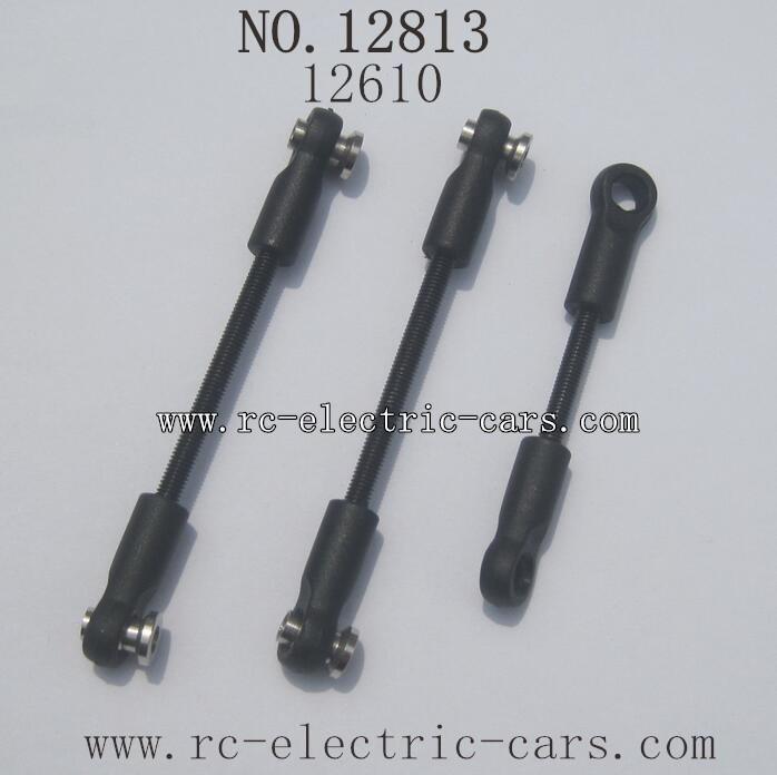 HBX 12813 Survivor MT Parts-Steering Links