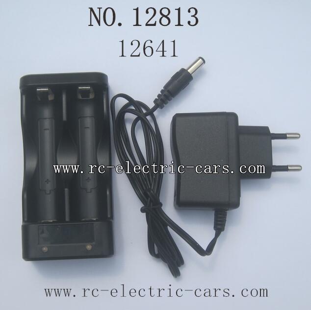 HBX 12813 Survivor MT Parts-Charge Box+Charger