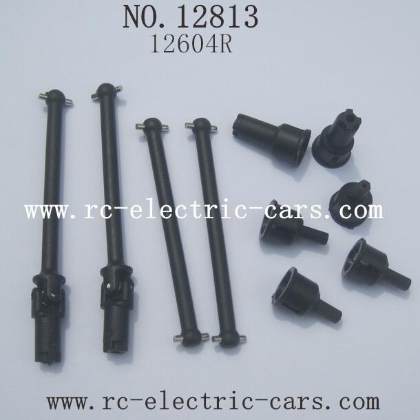 HBX 12813 Survivor MT Parts-Dog Bone Cups