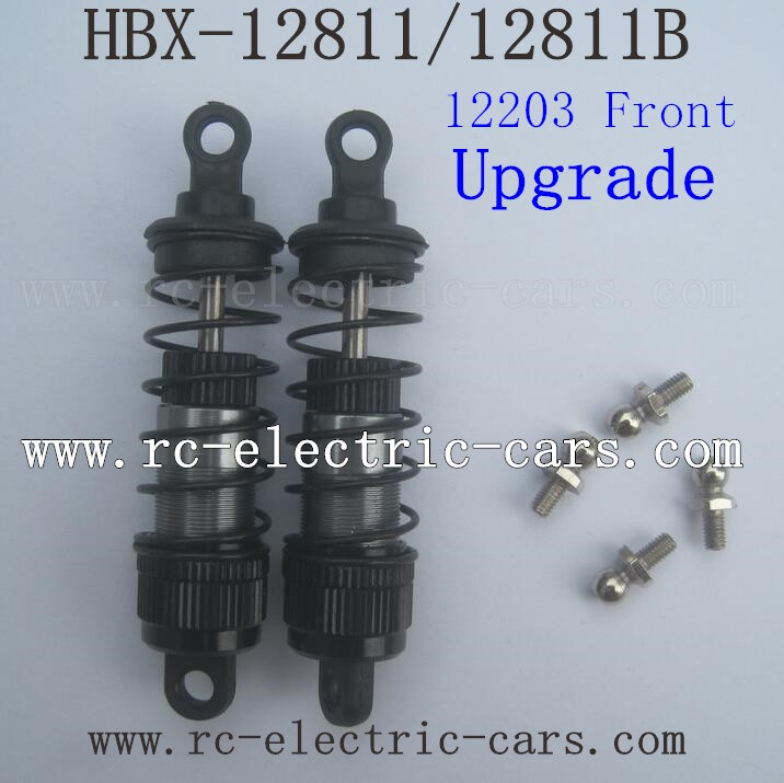 HBX 12811 Upgrade Parts-Front Shock Absorbers 12203