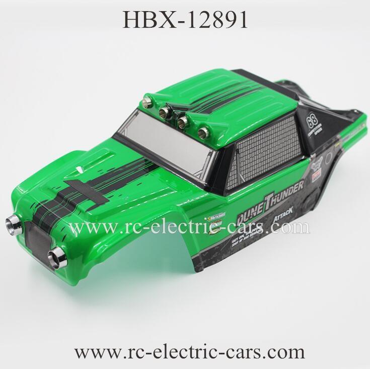 HaiboXing HBX 12891 CAR Body Shell Green
