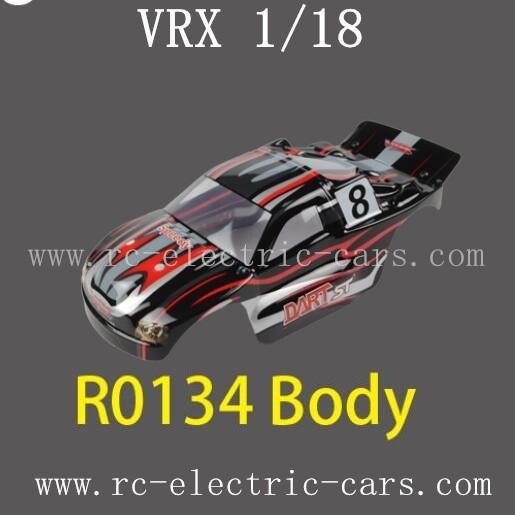 Vrx Racing 1 18 Rc Car Parts R1034 Car Body