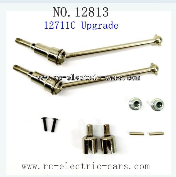 HBX 12813 Survivor MT Parts-Upgrade Metal Drive Shafts Front