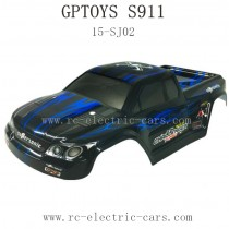 GPTOYS S911 Parts Car Shell Blue