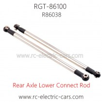 RGT 86100 Rock Crawler Parts-Rear Axle Lower Connect Rod