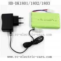 HD DK1801 1802 1803 Parts-Battery and Charger
