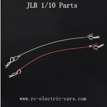 JLB Racing car parts fixing tires